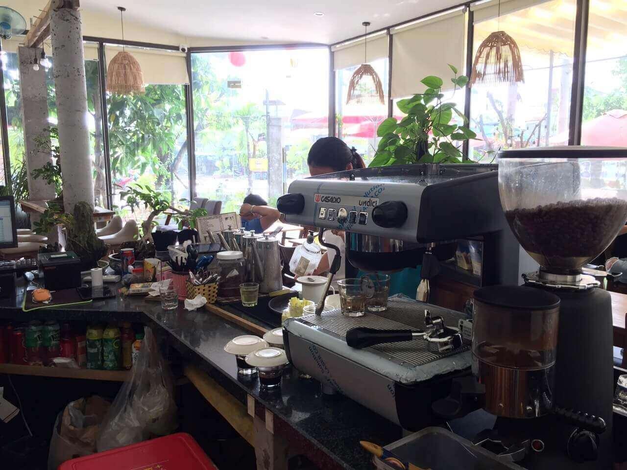 Máy pha cafe casadio
